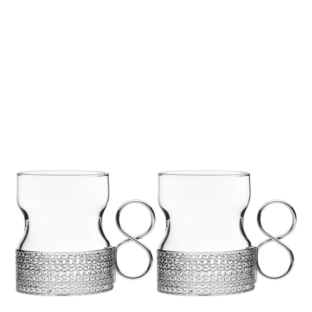 Iittala - Tsaikka Glas med hållare 23 cl 2-pack