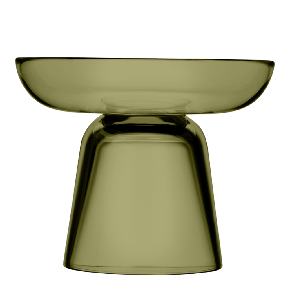 Iittala - Nappula Ljusstake 10,7 cm Mossgrön