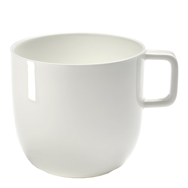 Base Kaffekopp 28 cl Vit blank