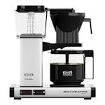 Kaffebryggare White metallic