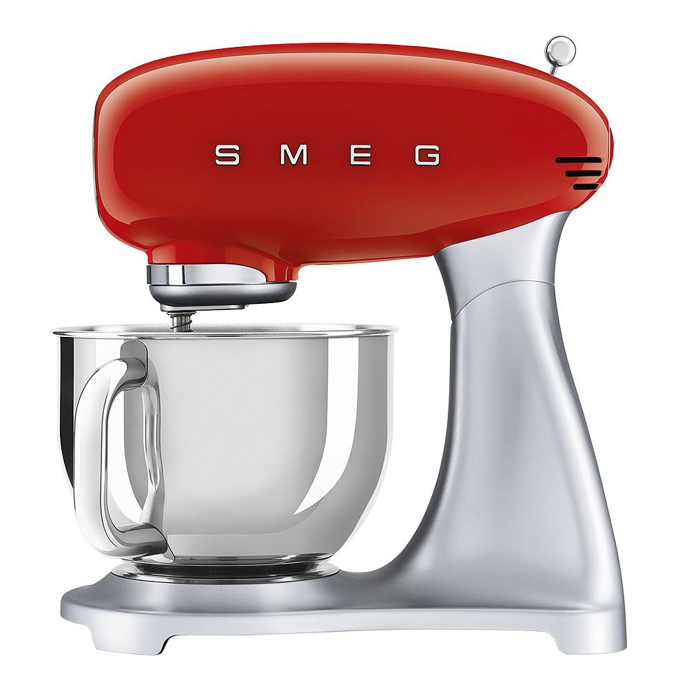 Smeg - 50's Style Köksmaskin SMF02 4,8 L Röd