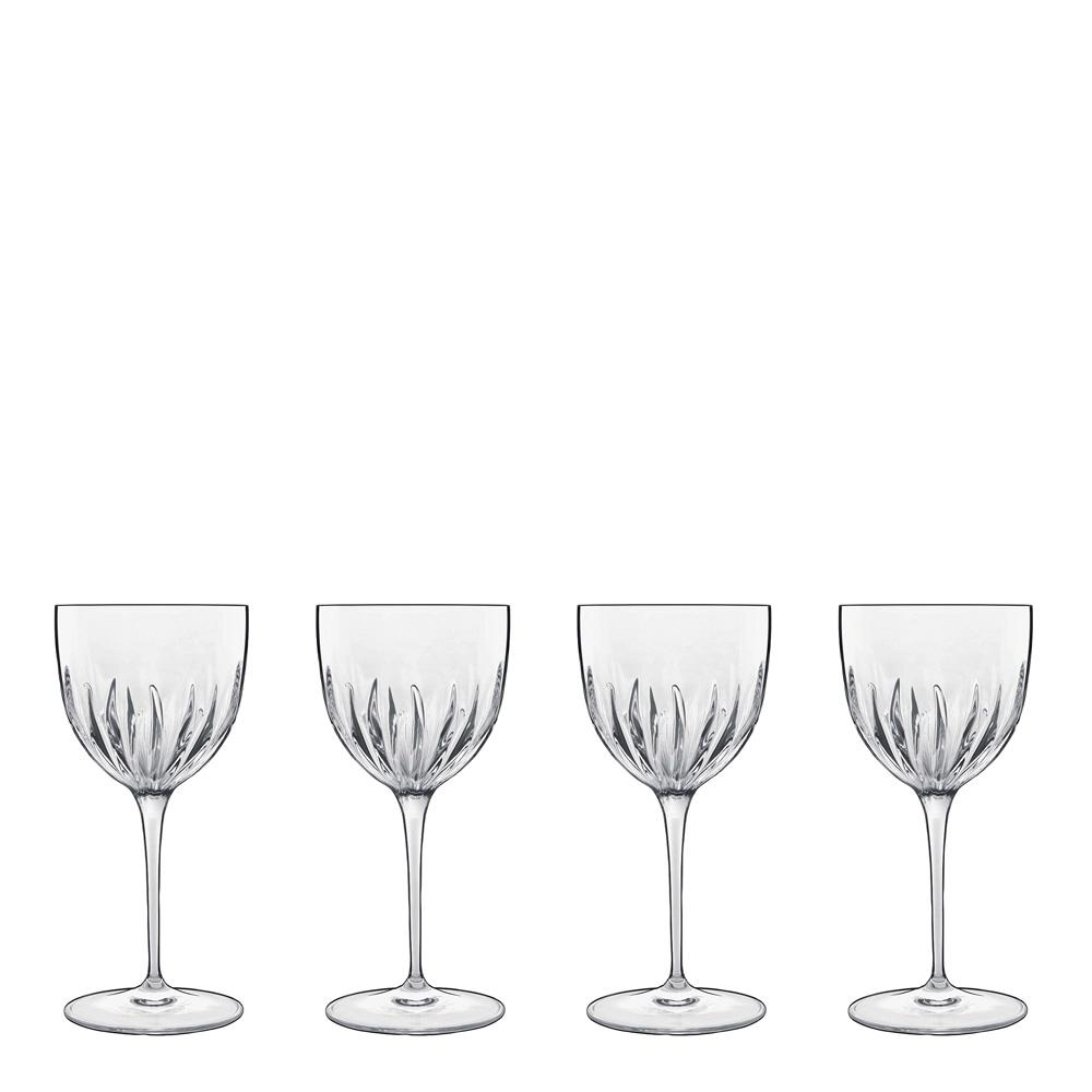 Luigi Bormioli - Mixology Cocktailglas Nick & Nora 15 cl 4-pack Klar
