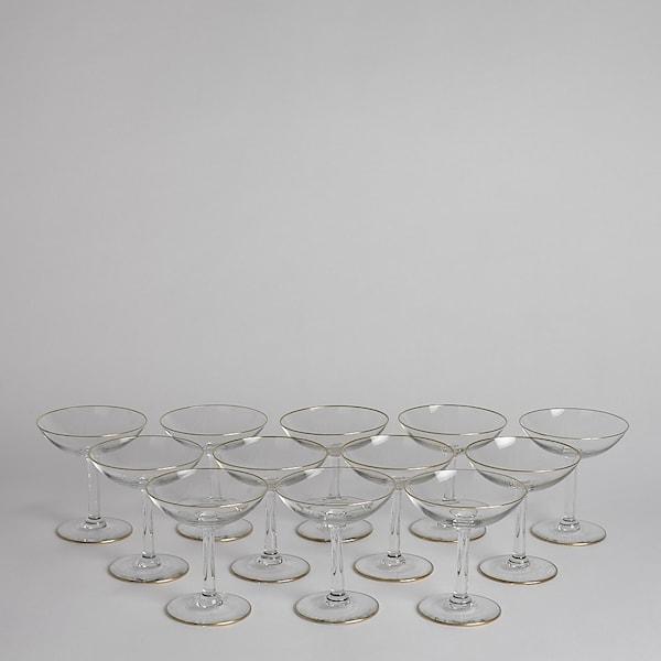 Vintage Cocktailglas 12 st