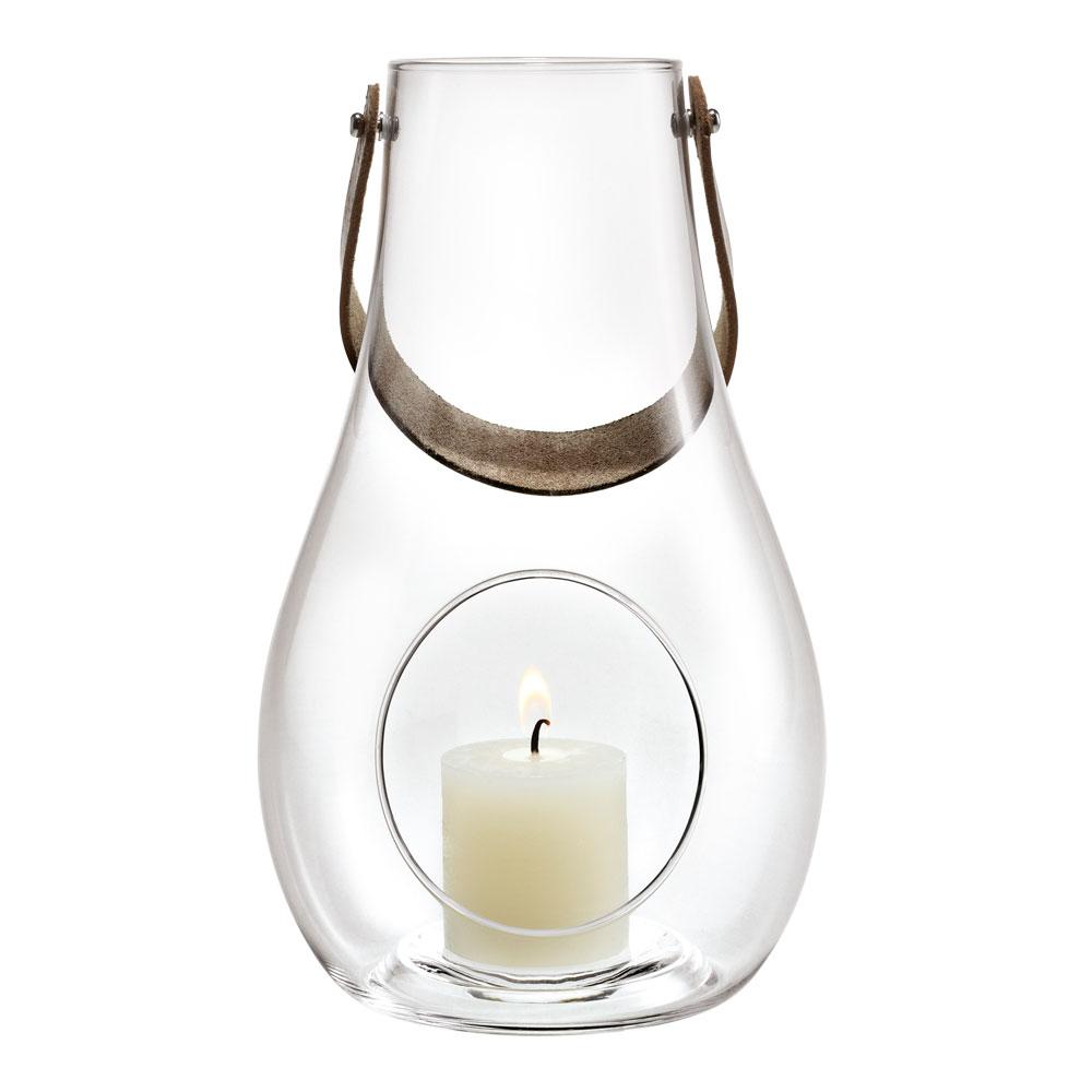 Holmegaard - Design with Light Lanterna 25 cm Klar
