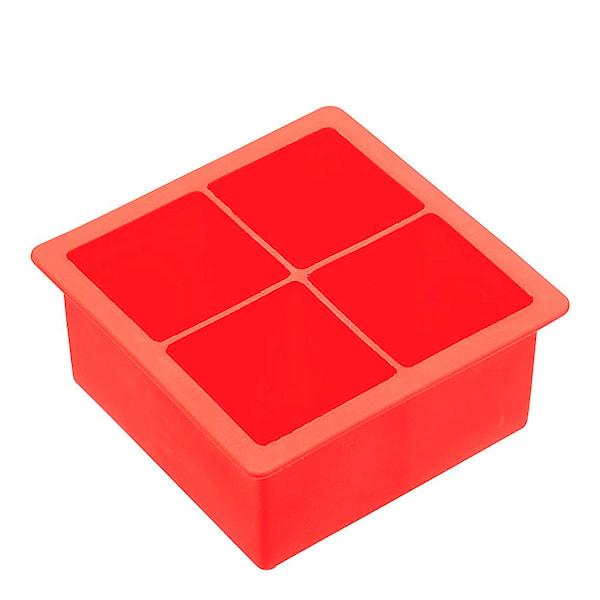 Isform Silikon Jumbo Röd