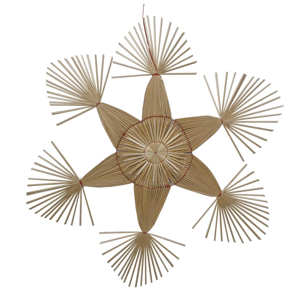 Holmen - Frid Stjärna Strå 62 cm Natur