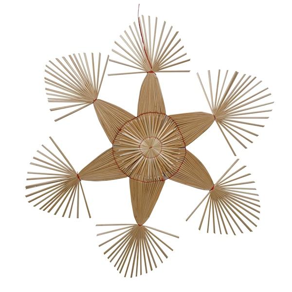 Frid Stjärna Strå 62 cm Natur
