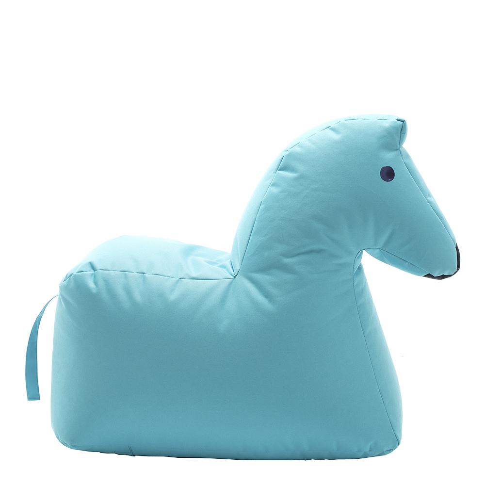 Sitting Bull - Happy Zoo Sittsäck Hästen Lotte Ljusblå