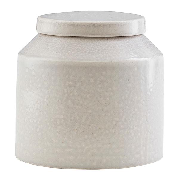 House Doctor Kala Burk Keramik Ljusgrå 11,5x11,5 cm