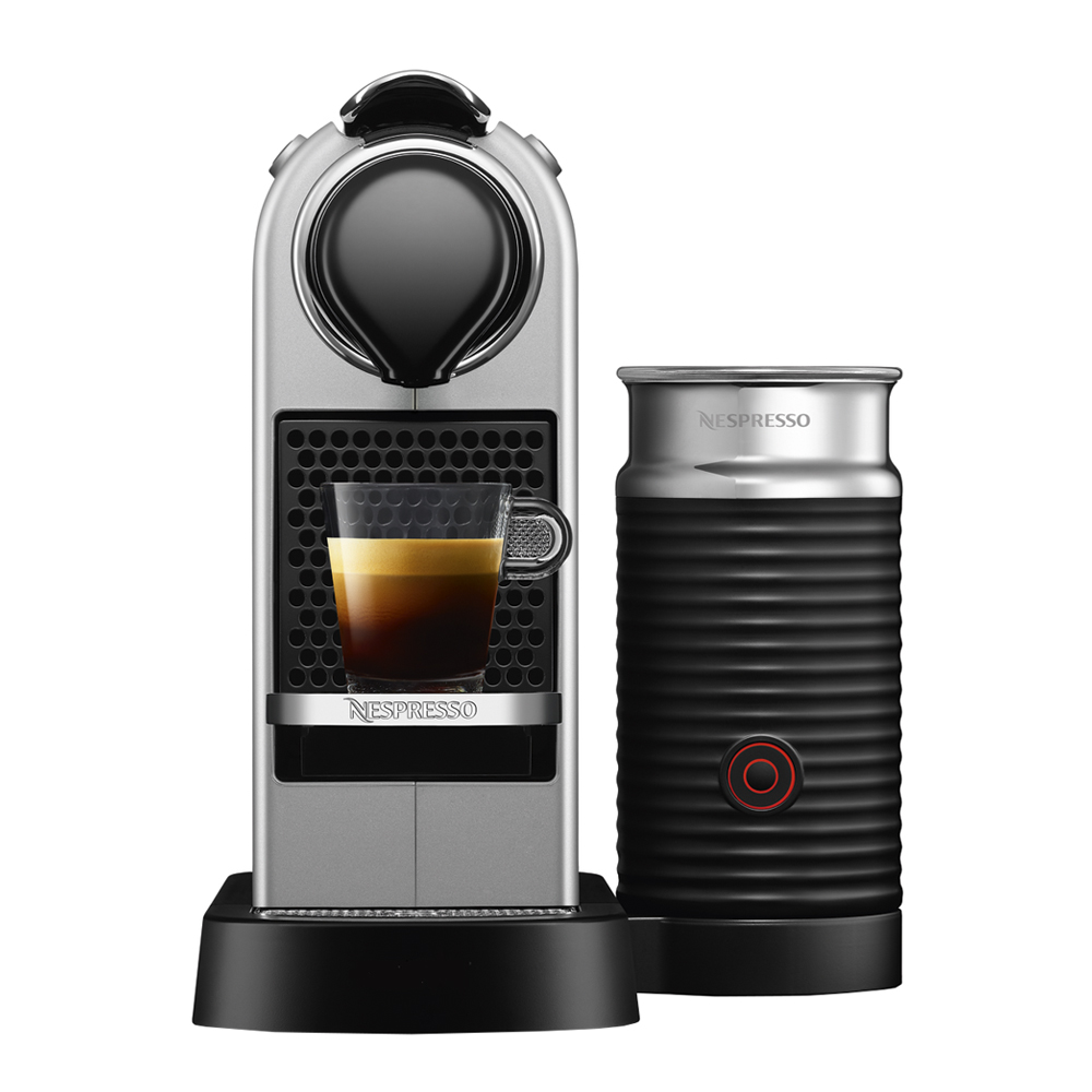 Nespresso - CitiZ and Milk Maskin 1 L Silver