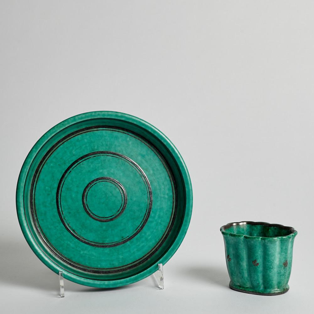 Gustavsberg - Fat och Vas Argenta