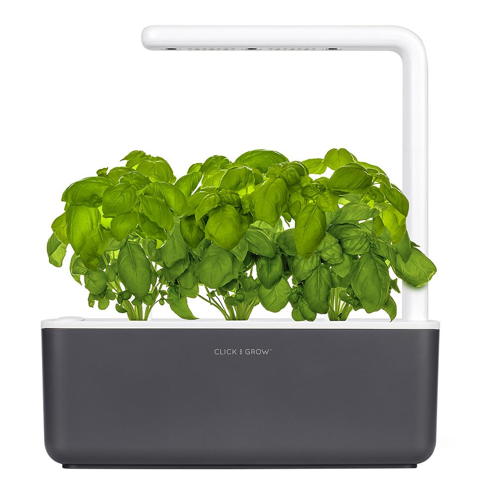 Click and Grow - Smart Garden 3 Startkit Mörkgrå