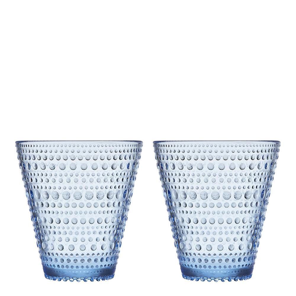 Iittala - Kastehelmi Tumbler 30 cl 2-pack Aqua