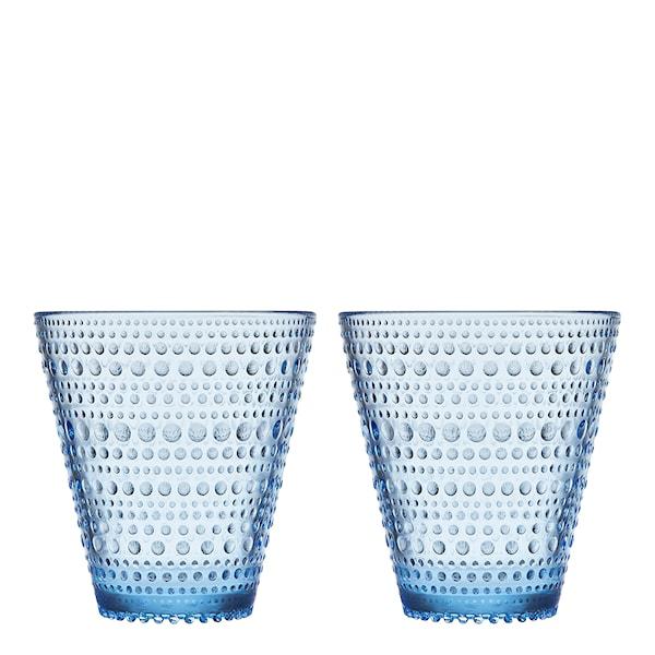 Iittala Kastehelmi Tumbler 30 cl 2-pack Aqua