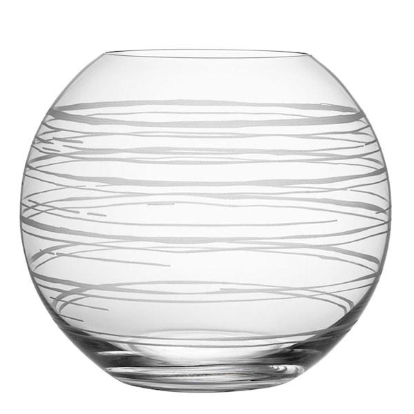 Orrefors Graphic Vas 20 cm Rund