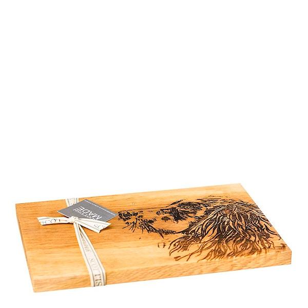Skärbräda Bambu för grill magnetisk Cervera