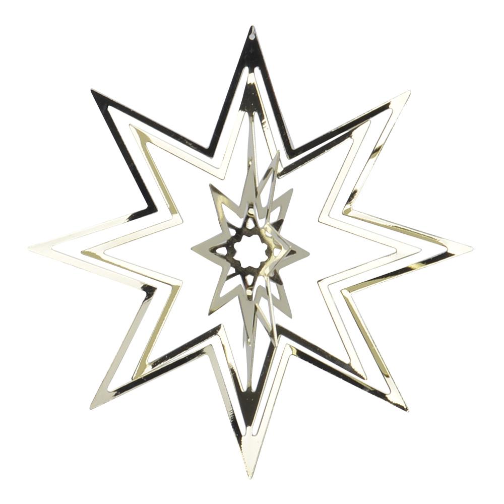 Holmen - Istind Juldekoration Stjärna 8 cm Guld