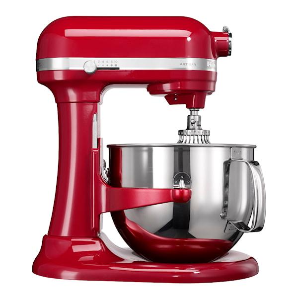 KitchenAid Artisan Kjøkkenmaskin 6,9 L Rød