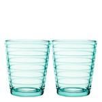 Aino Aalto glass 22 cl 2-pakning VannGrønn