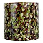 Calore Ljushållare 15x15 cm Lime/Svart