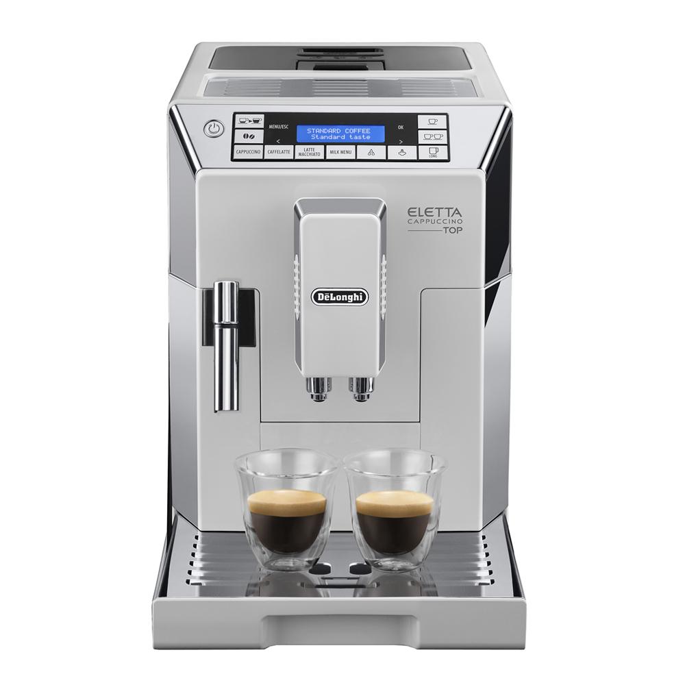 Delonghi - Eletta Kaffemaskin   Vit
