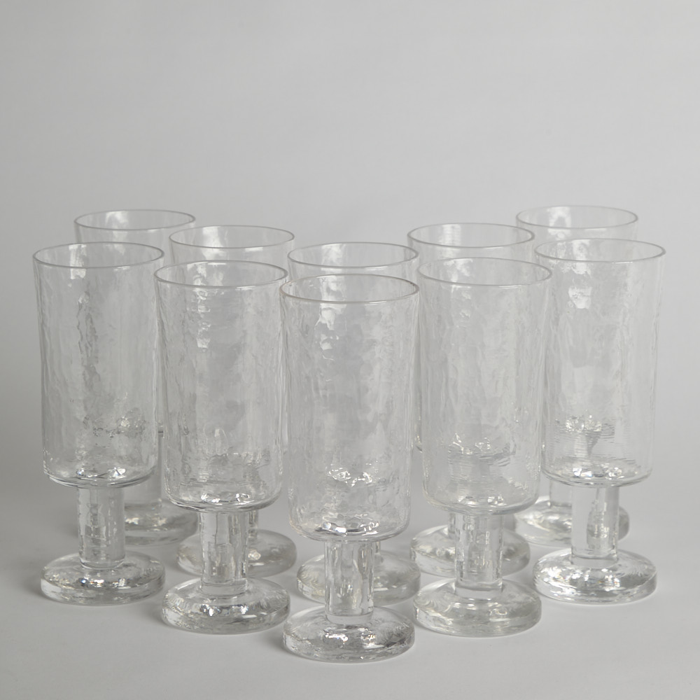"""Vintage - Ölglas """"Rustica"""" Göran Wärff Pukeberg"""