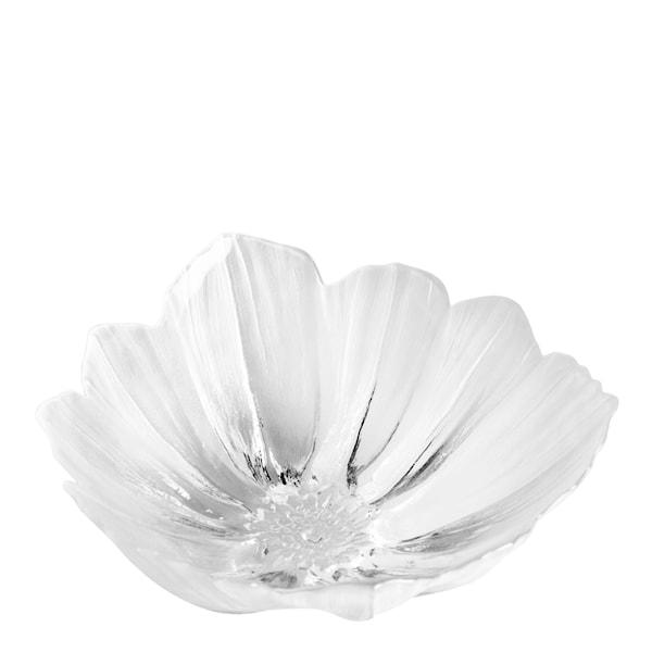Målerås Glasbruk Anemone Skål 19 cm Hvit