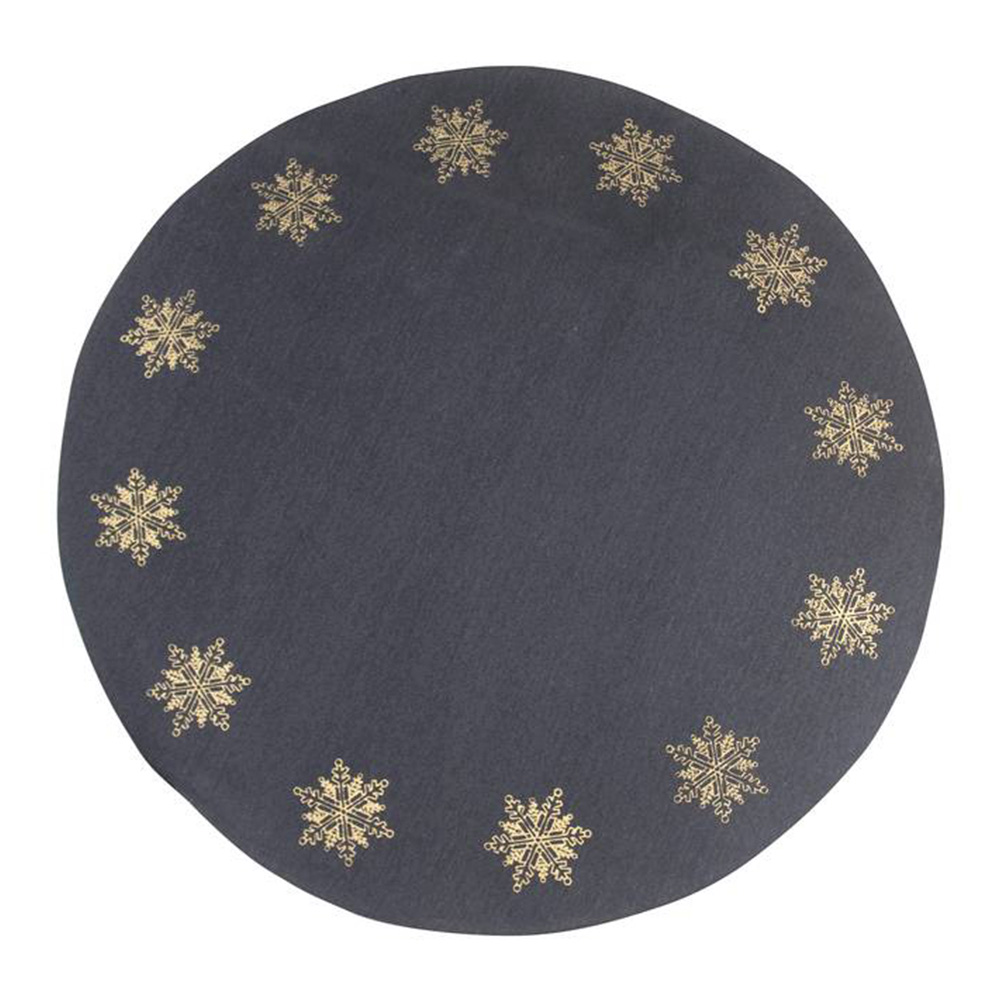 Pluto - Julgransmatta Snöflingor 110 cm