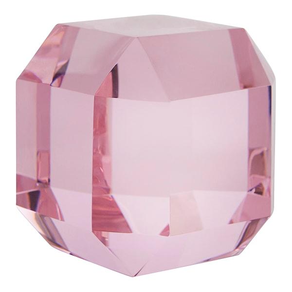 Brevpress Diamant 8 cm Rosa