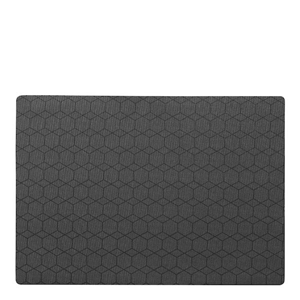 Juna Hexagon Tablett 45 x 30 cm Smoked Pearl