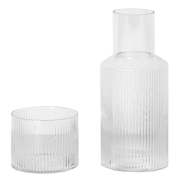 Ripple Karaff 0,5 L + Glas 20 cl