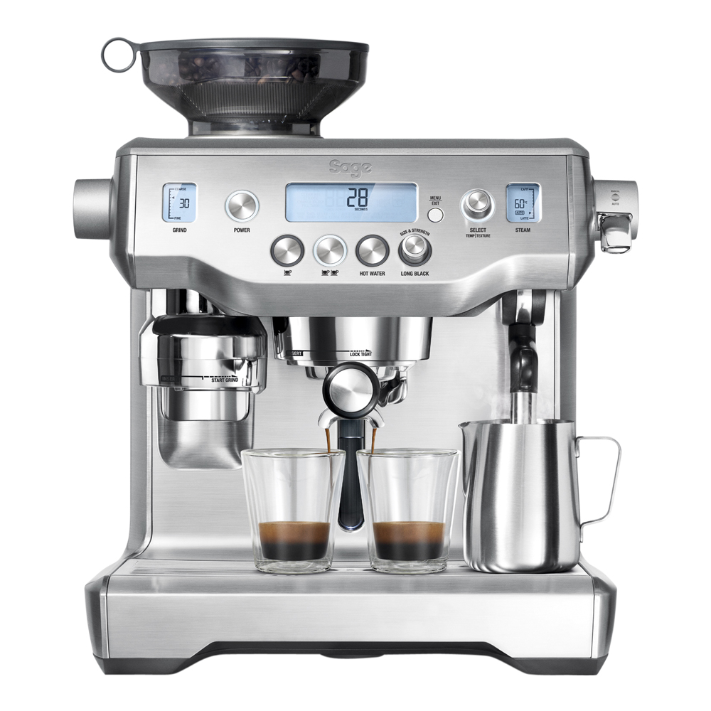 Sage - The Oracle Espressomaskin Rostfri