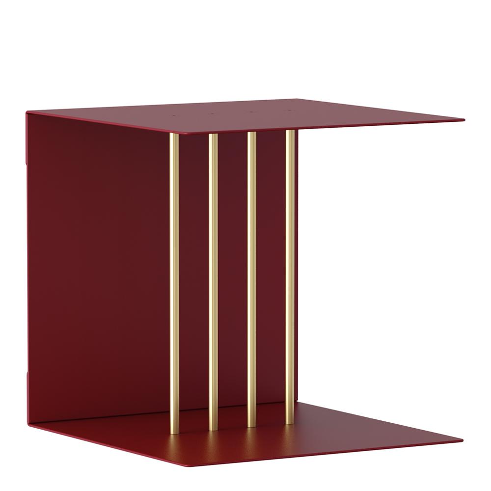 Umage - Teaser Hylla 30x30 cm Rubinröd