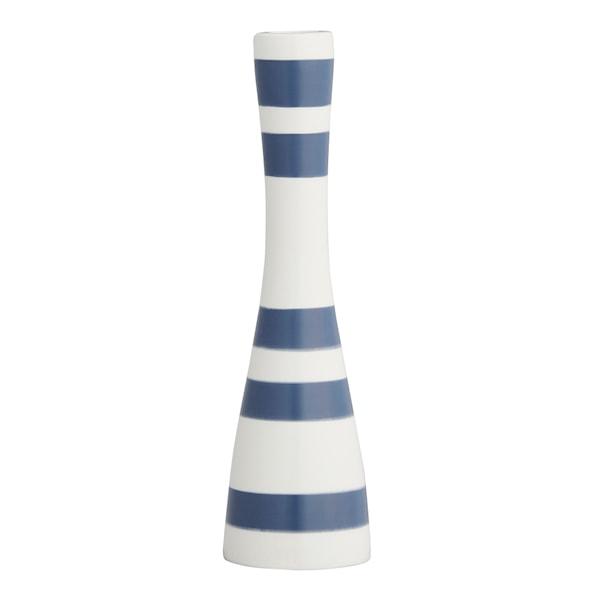 Kähler Design Omaggio Ljusstake 24 cm Stålblå