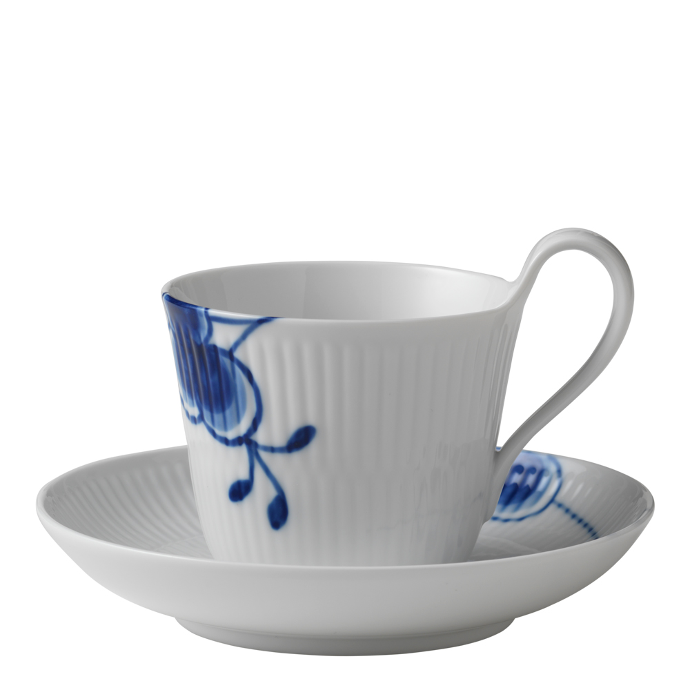 Royal Copenhagen - Blue Fluted Mega Kaffegods 25 cl hög hank