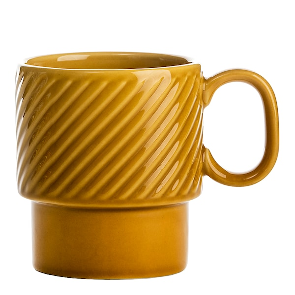Sagaform Coffee & More Kaffemugg 25 cl Gul