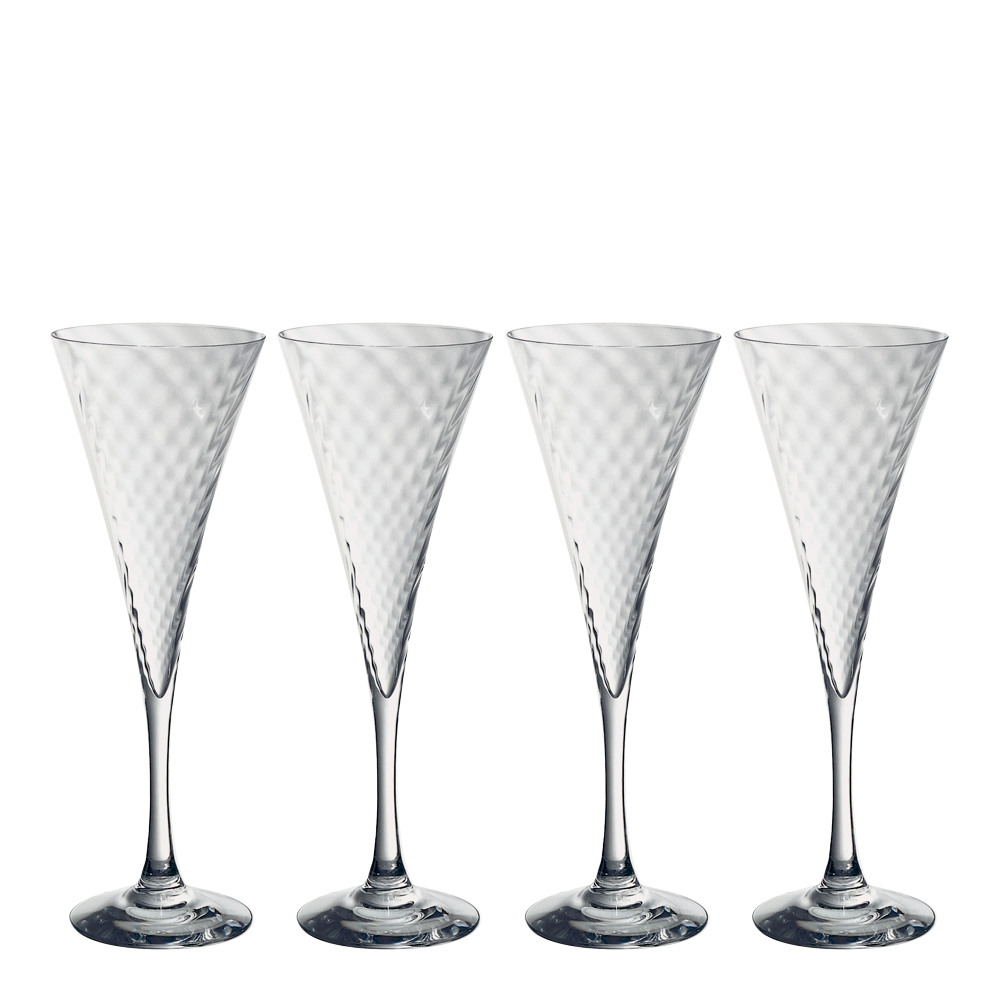 Orrefors - Helena Champagneglas 25 cl 4-pack
