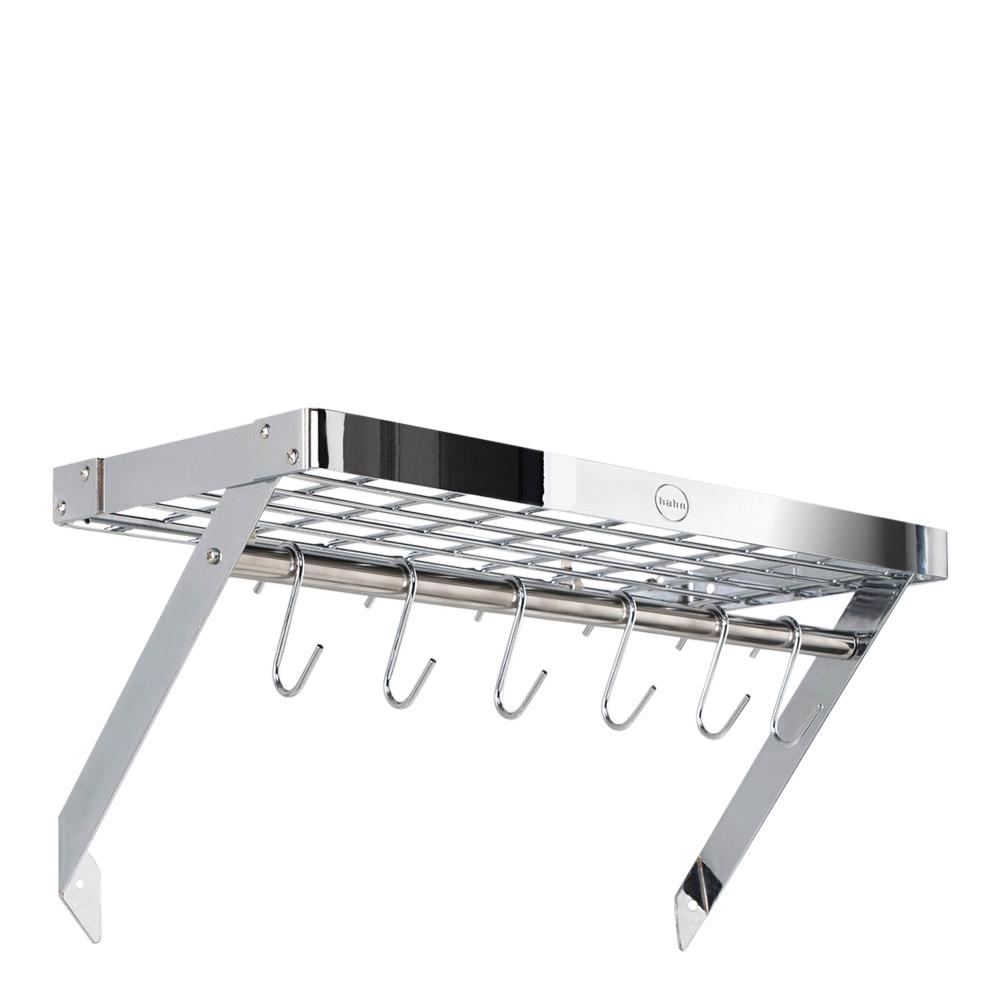 Hahn Kitchenware - Vägghylla 60x25x4 cm Krom