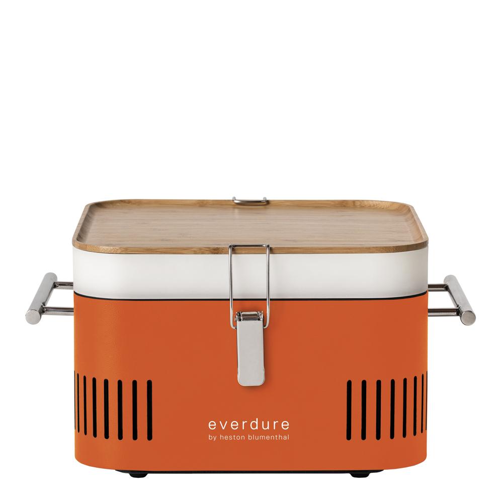 Everdure - Cube Kolgrill portabel Orange