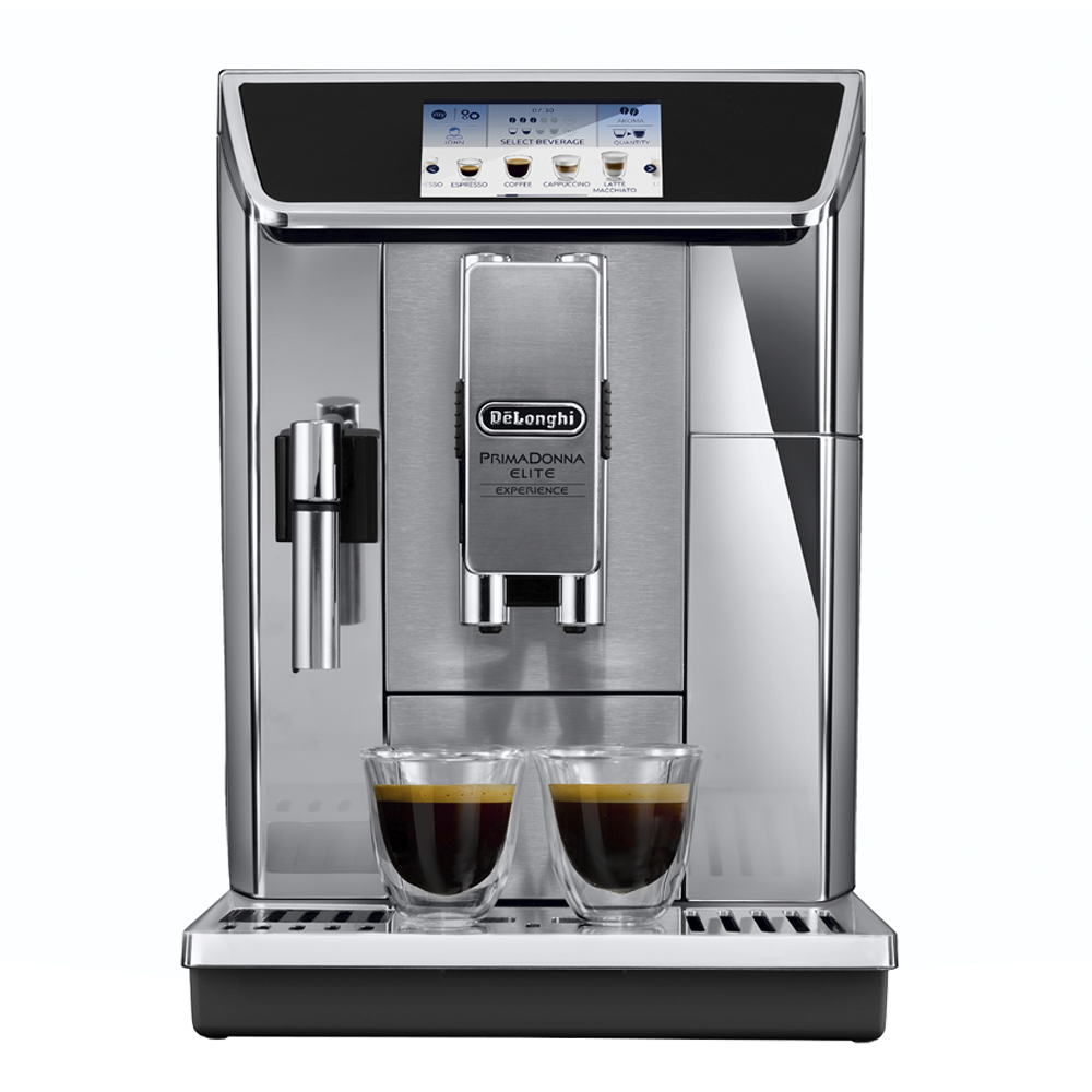 Delonghi - PrimaDonna Elite Experience Kaffemaskin Metall/Silver