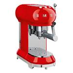 50's Style Espressomaskin Röd