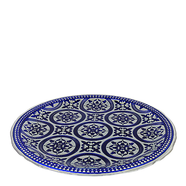 Nybridge Marrakesh Fat 33 cm Blå