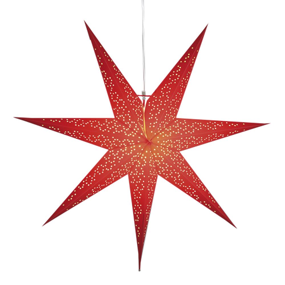 Star Trading - Dot Stjärna 70 cm Röd