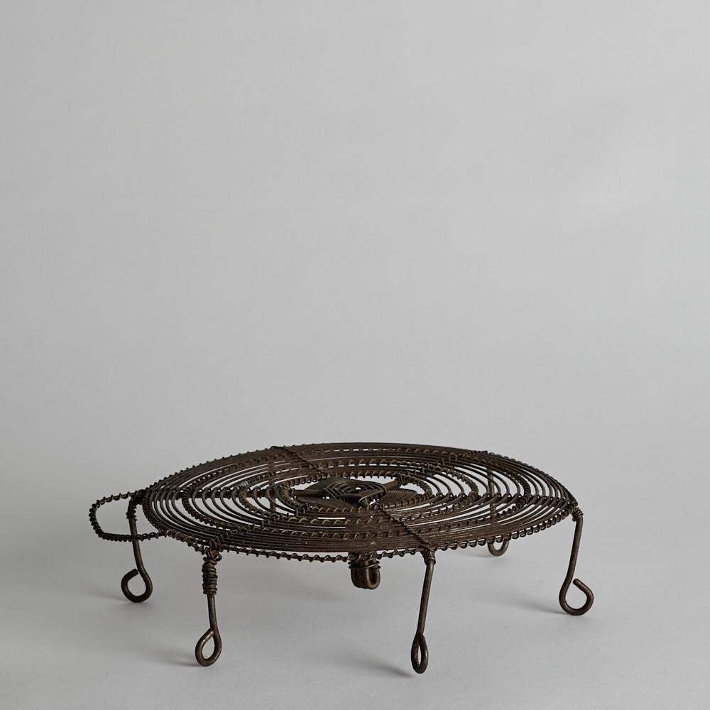 Vintage - Kastrullunderlägg i Metalltråd
