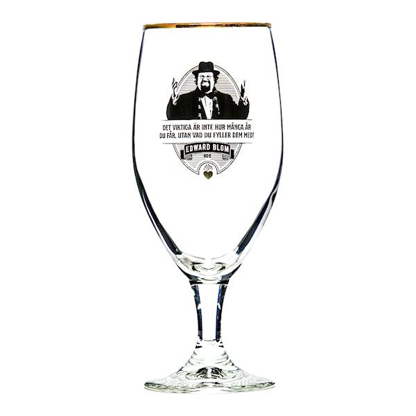 Edward Blom Collection Ölglas No 5: Det viktiga är