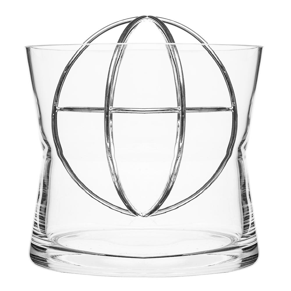 Born in Sweden - Sphere Vas Large Silver