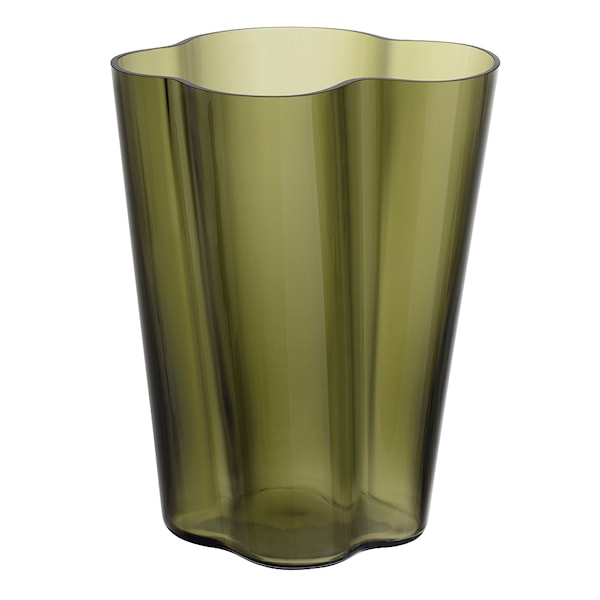 Iittala Alvar Aalto Collection Vase 27 cm Mosegrønn