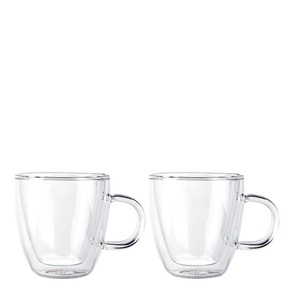Bistro Glasmugg med handtag 15 cl 2-pack
