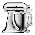 Artisan Kjøkkenmaskin 4,8 + 3 L + Tilbehør Krom