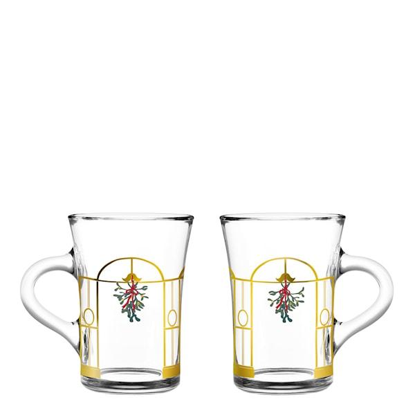 Holmegaard Jul 2020 Hotdrinkglas 24 cl 2-pack